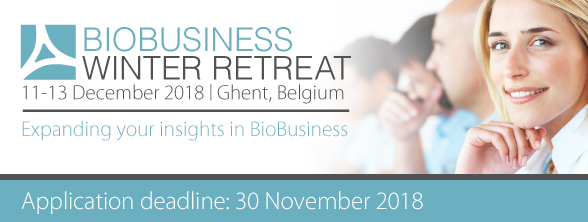 BioBusiness Winter Retreat - Apply until 30 November!